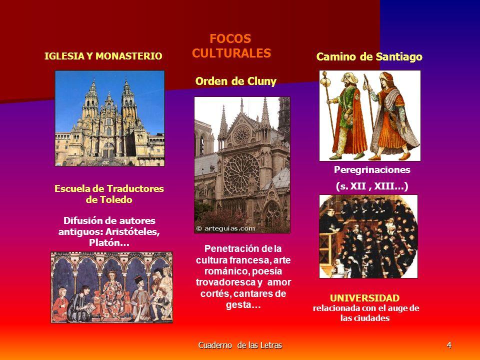 FOCOS CULTURALES Orden de Cluny Camino de Santiago