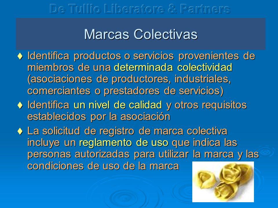 Marcas Colectivas De Tullio Liberatore & Partners