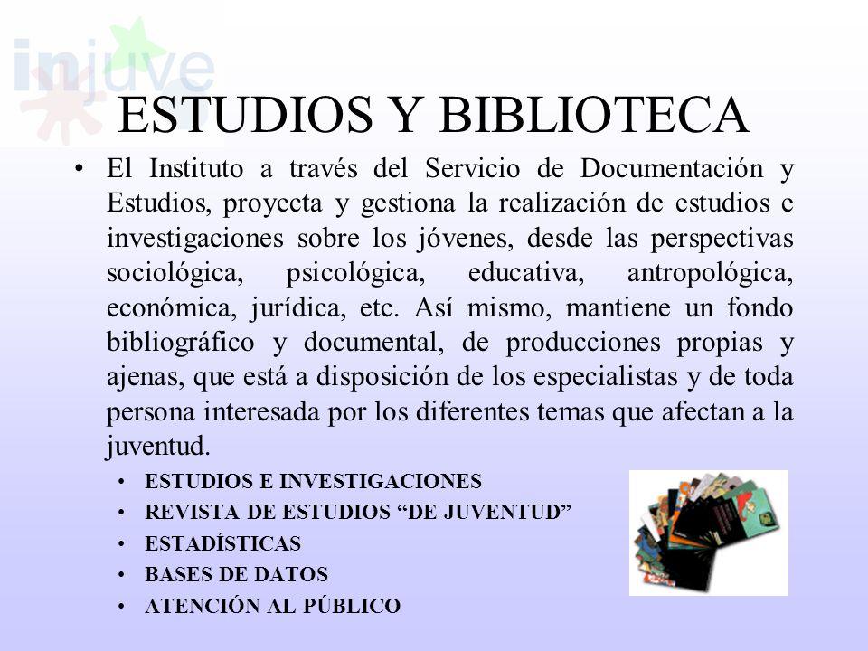 ESTUDIOS Y BIBLIOTECA