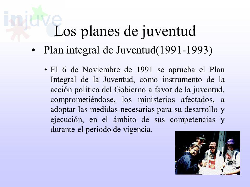 Plan integral de Juventud(1991-1993)