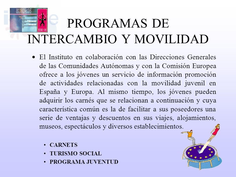 PROGRAMAS DE INTERCAMBIO Y MOVILIDAD