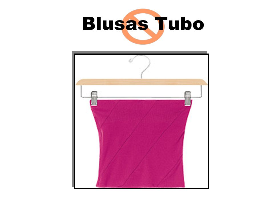 Blusas Tubo Explain to students that in this and the next
