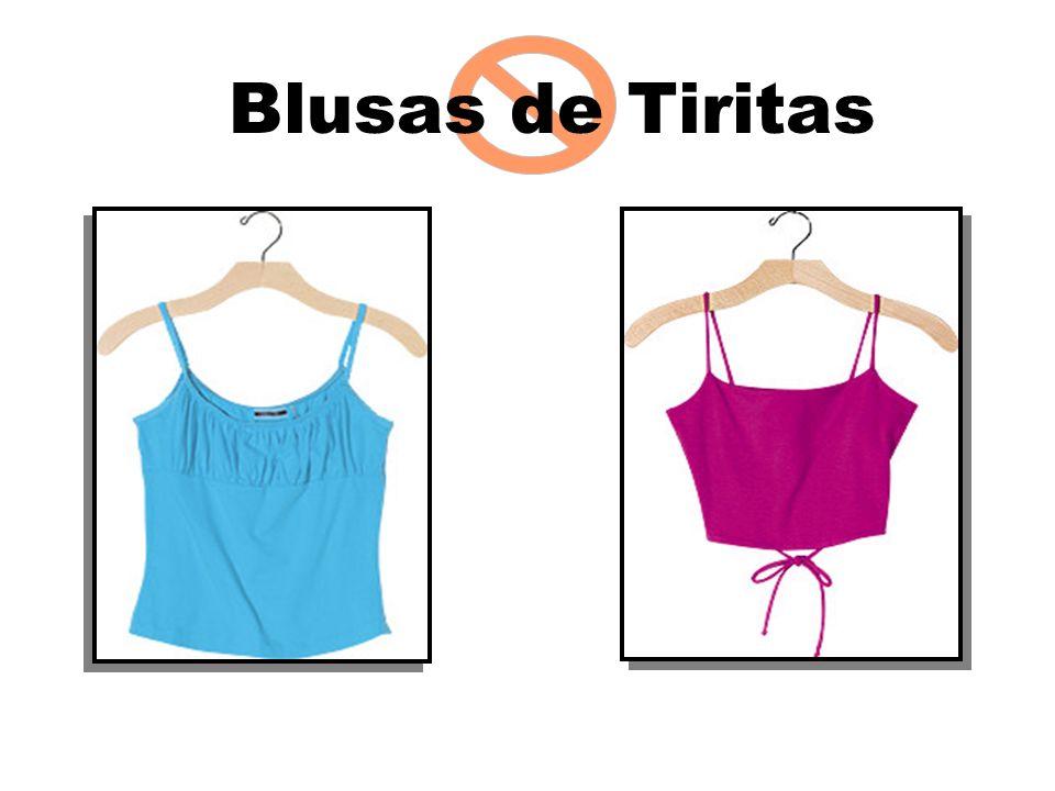 Blusas de Tiritas