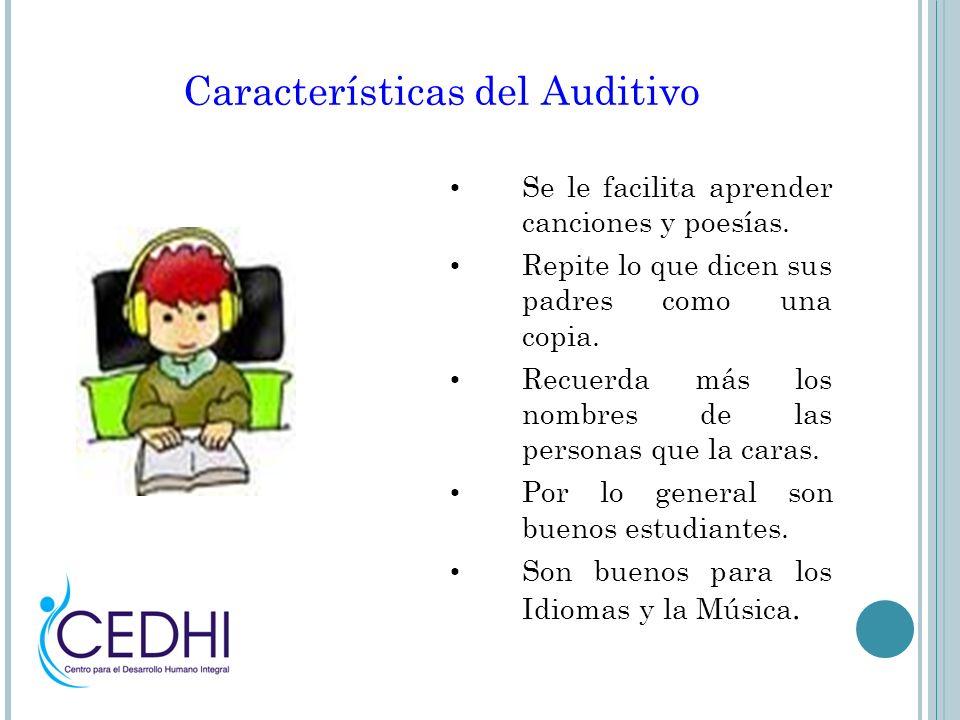 Características del Auditivo