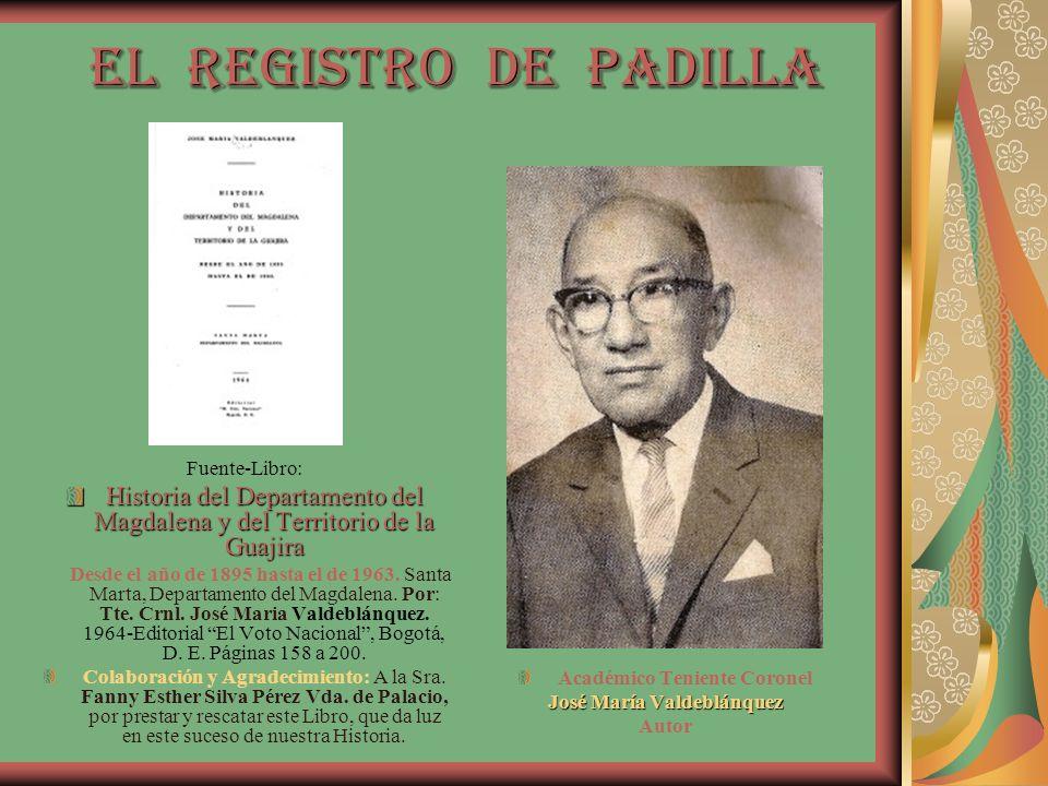 Académico Teniente Coronel José María Valdeblánquez