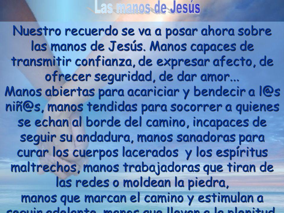 Las manos de Jesús
