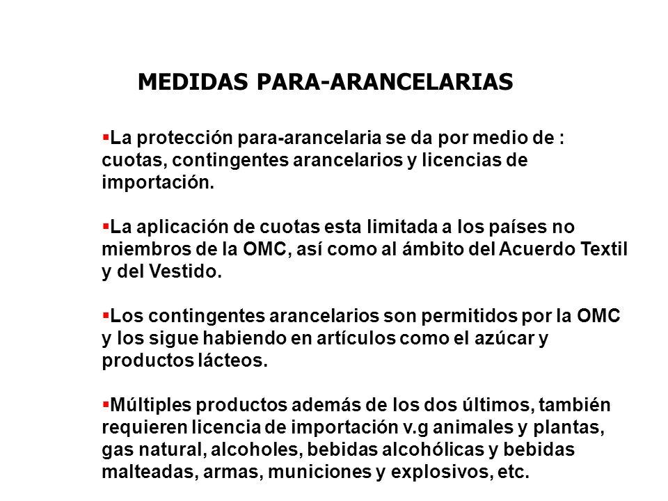MEDIDAS PARA-ARANCELARIAS
