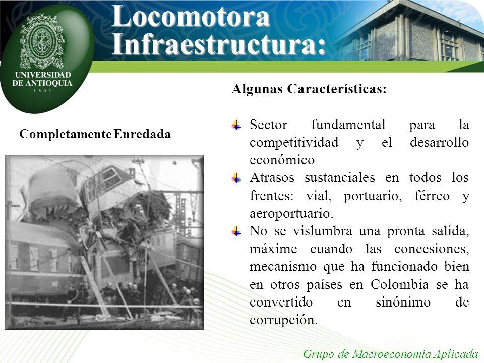 Locomotora Infraestructura: