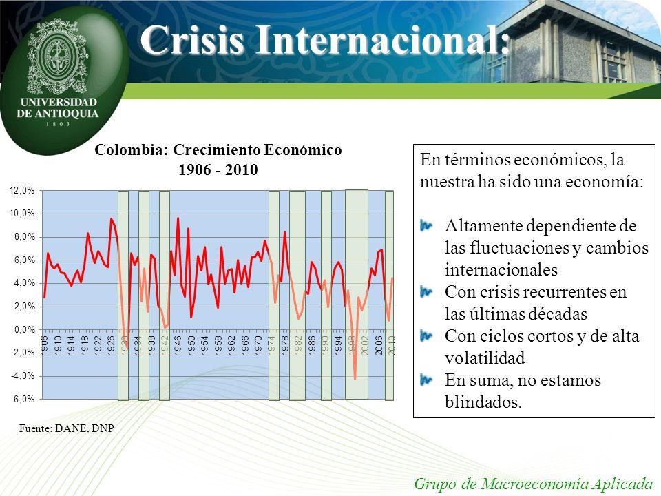 Crisis Internacional: