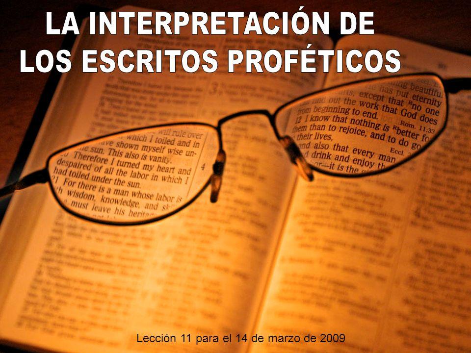 LOS ESCRITOS PROFÉTICOS