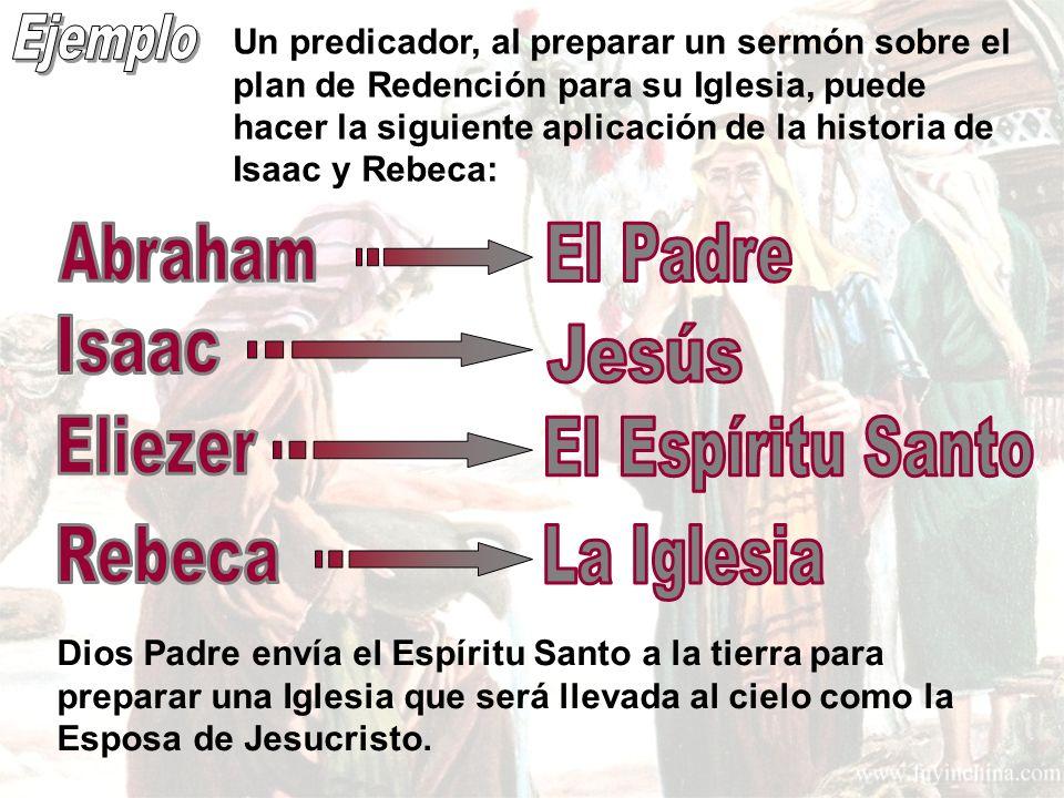 Ejemplo Abraham El Padre Isaac Jesús Eliezer El Espíritu Santo Rebeca
