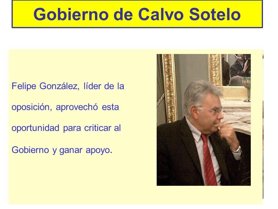 Gobierno de Calvo Sotelo