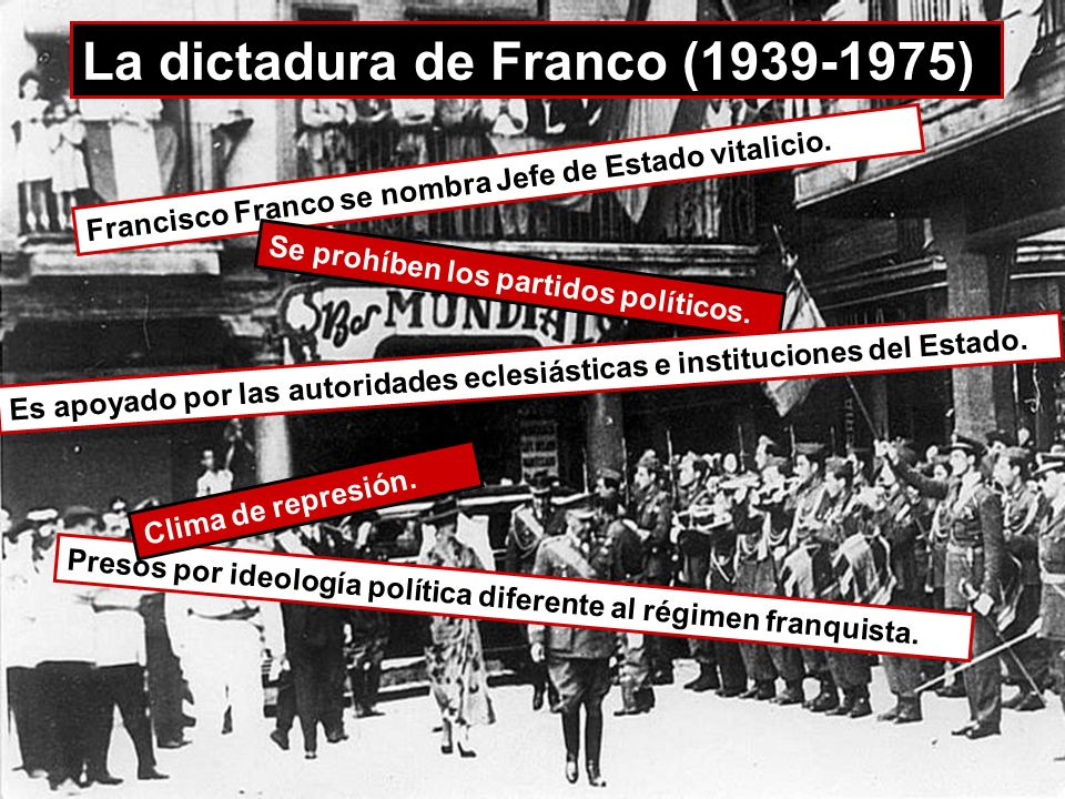 c La dictadura de Franco (1939-1975)