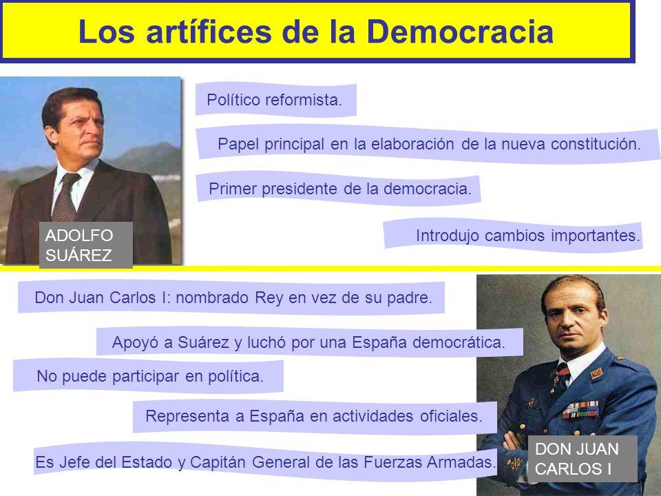 Los artífices de la Democracia