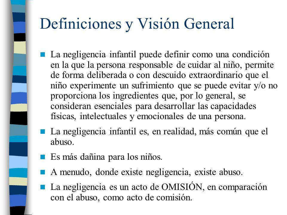 Definiciones y Visión General