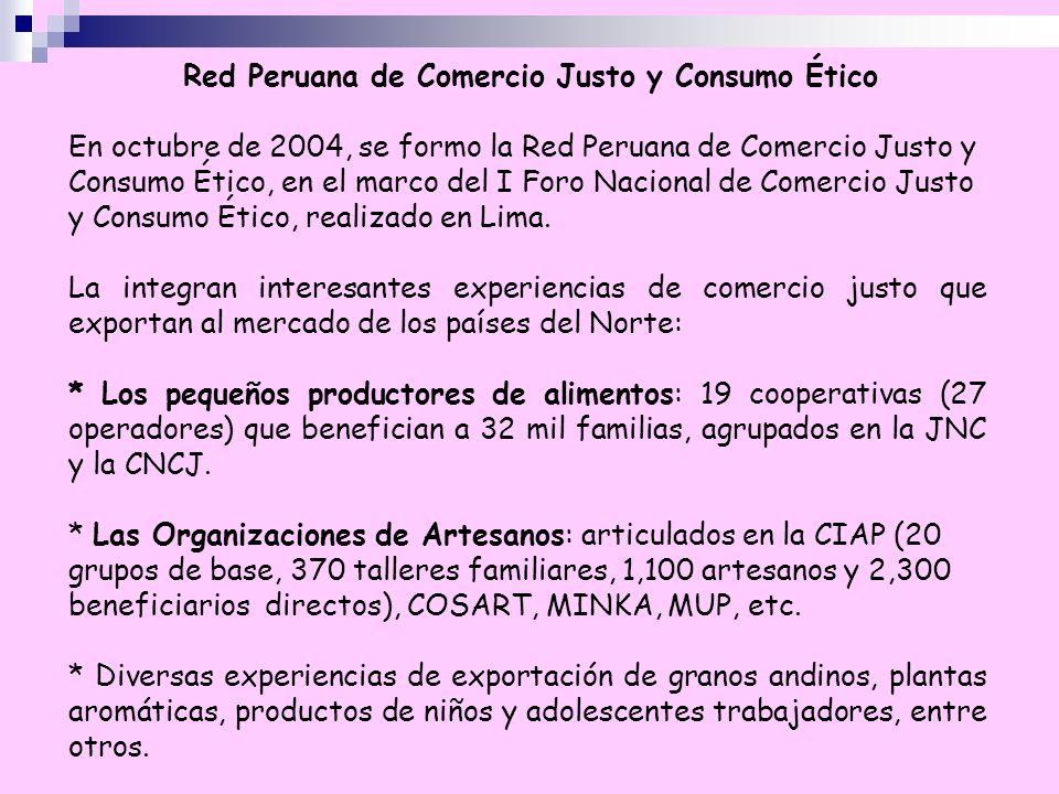 Red Peruana de Comercio Justo y Consumo Ético