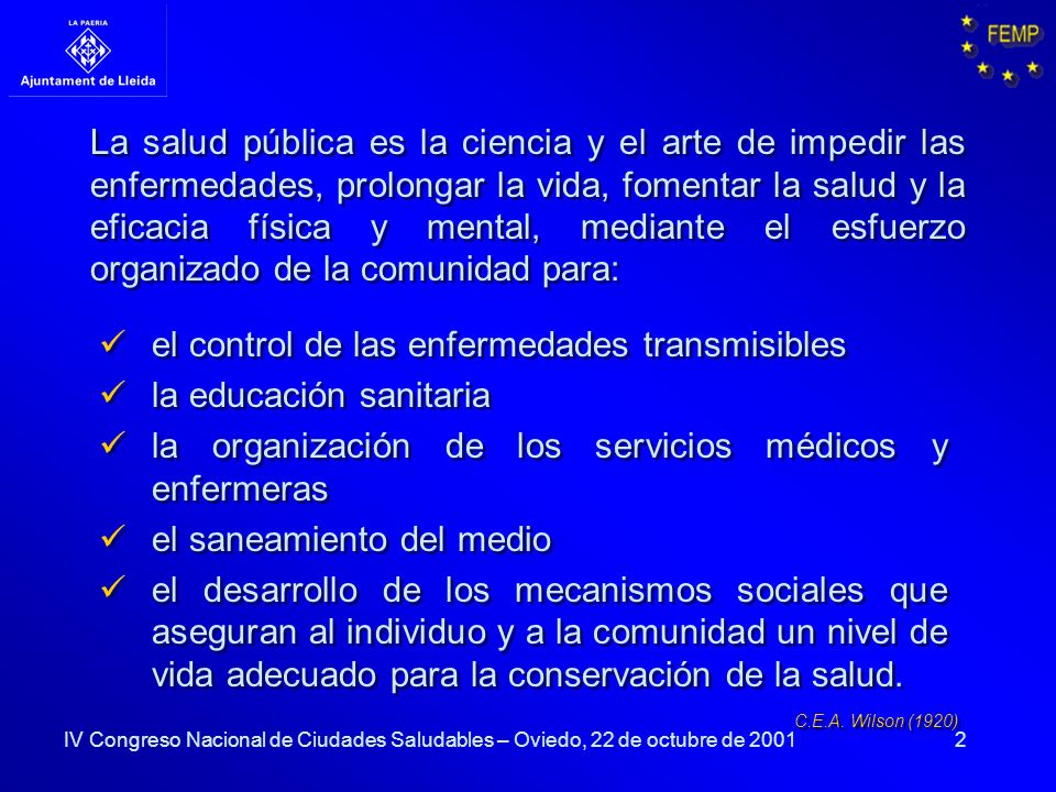 el control de las enfermedades transmisibles la educación sanitaria