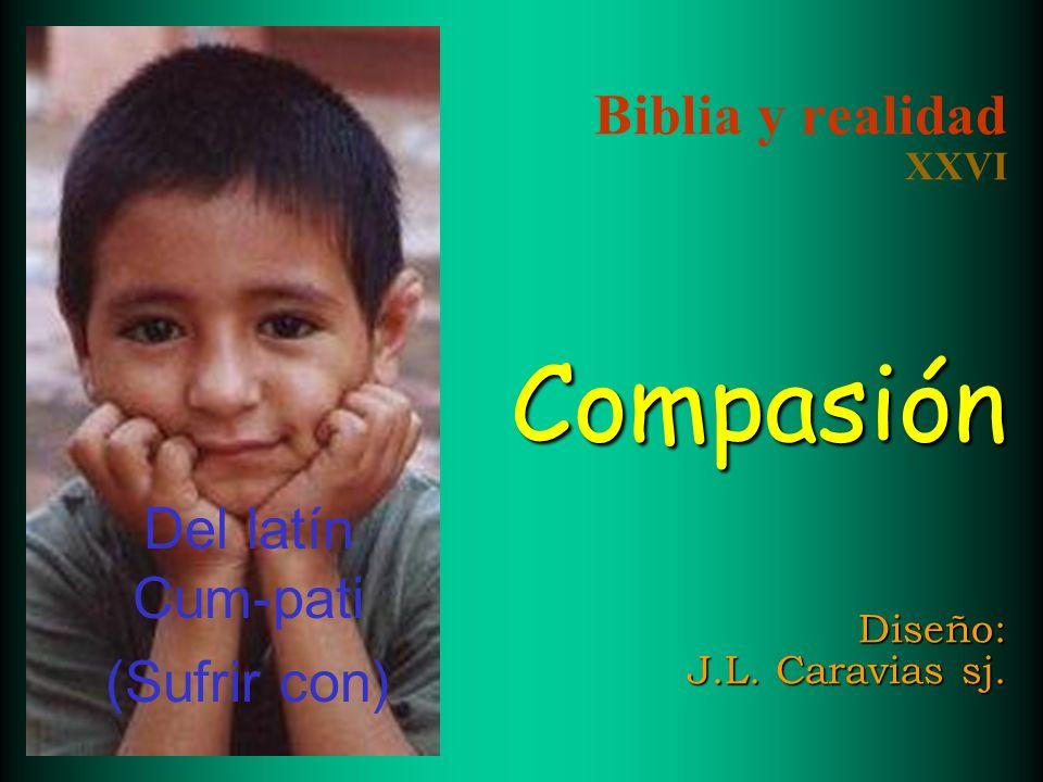 Biblia y realidad XXVI Compasión Diseño: J.L. Caravias sj.
