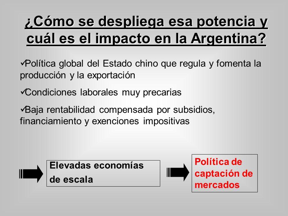 ¿Cómo se despliega esa potencia y cuál es el impacto en la Argentina