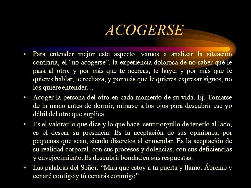 ACOGERSE
