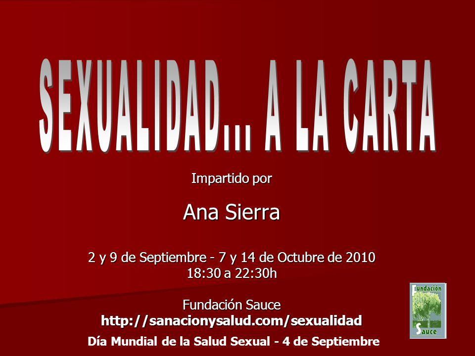 Día Mundial de la Salud Sexual - 4 de Septiembre