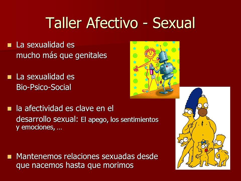 Taller Afectivo - Sexual