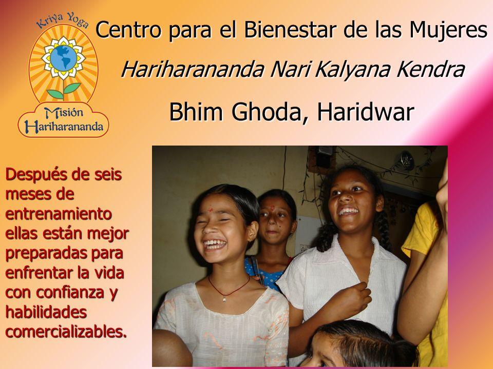 Bhim Ghoda, Haridwar Centro para el Bienestar de las Mujeres