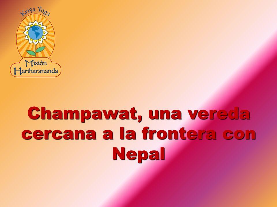 Champawat, una vereda cercana a la frontera con Nepal
