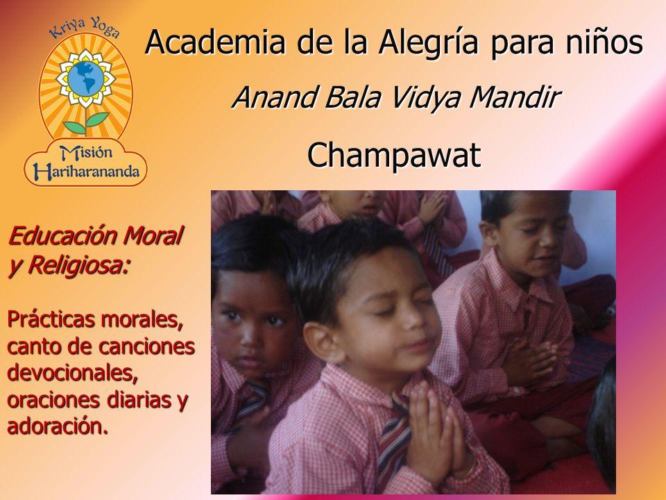 Academia de la Alegría para niños Champawat