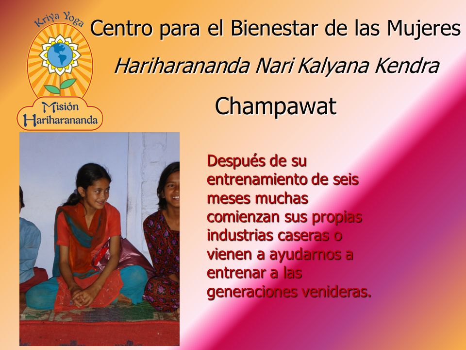 Champawat Centro para el Bienestar de las Mujeres