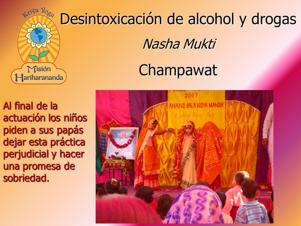Desintoxicación de alcohol y drogas