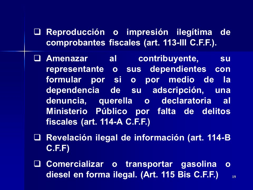 Reproducción o impresión ilegítima de comprobantes fiscales (art