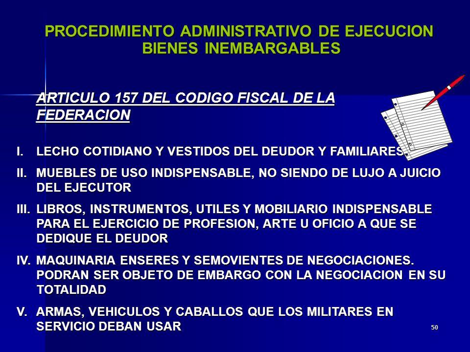 PROCEDIMIENTO ADMINISTRATIVO DE EJECUCION