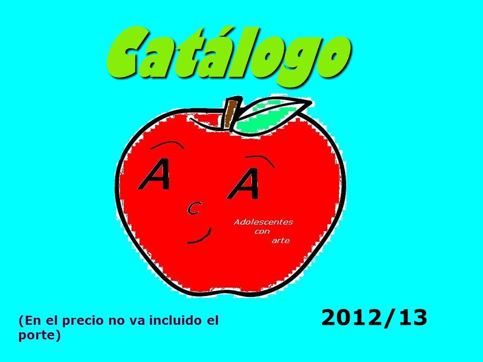 Catálogo 2012/13 (En el precio no va incluido el porte)