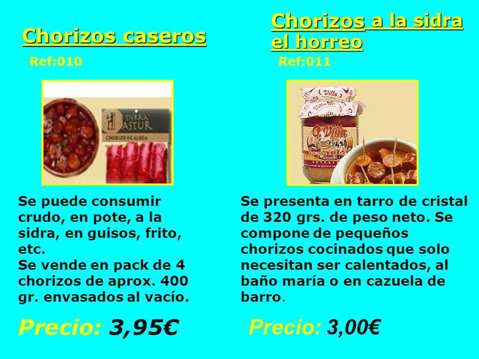 Chorizos a la sidra el horreo Chorizos caseros