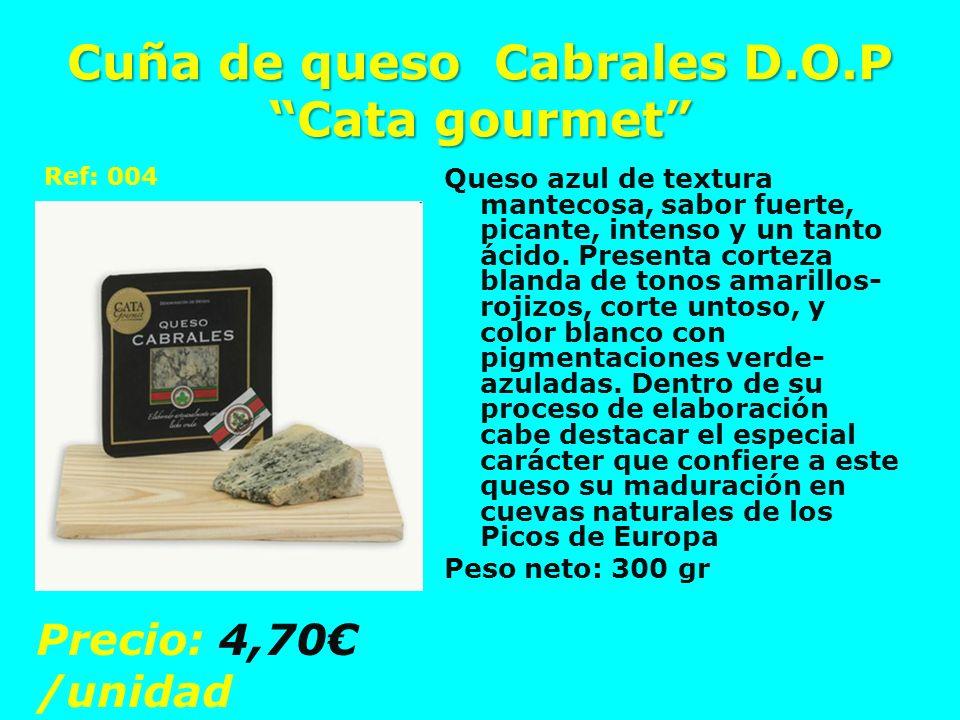 Cuña de queso Cabrales D.O.P Cata gourmet