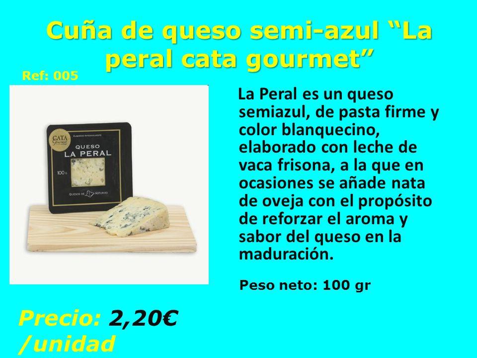 Cuña de queso semi-azul La peral cata gourmet