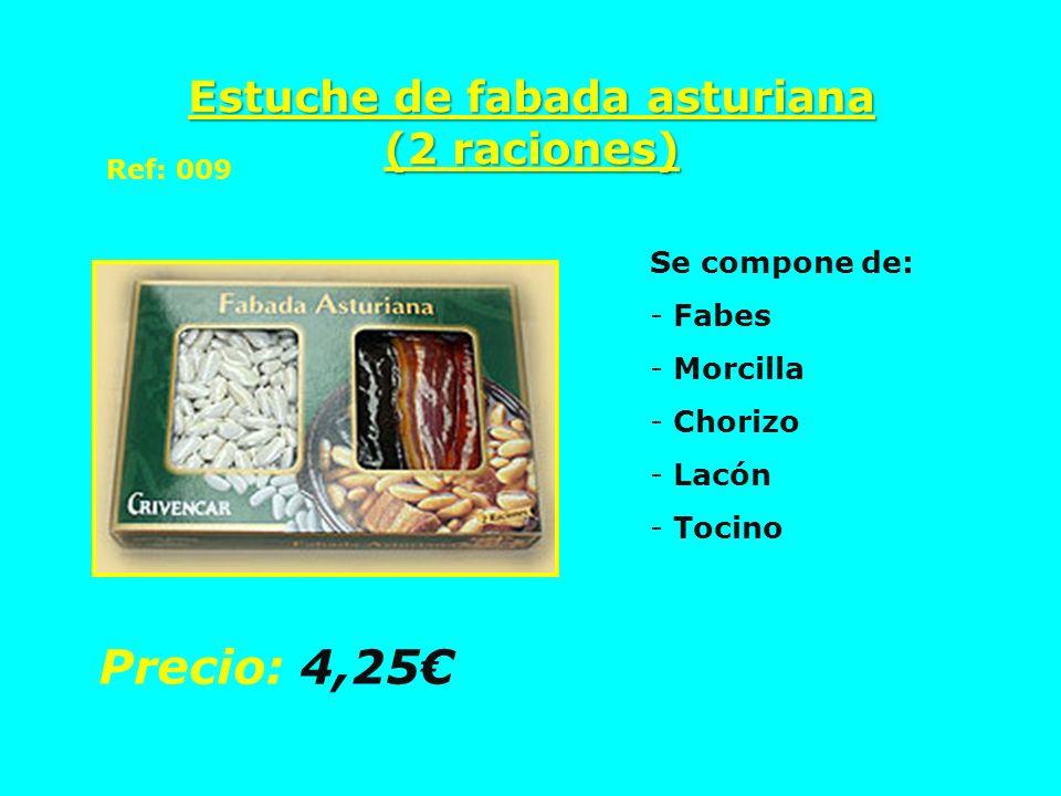 Estuche de fabada asturiana (2 raciones)