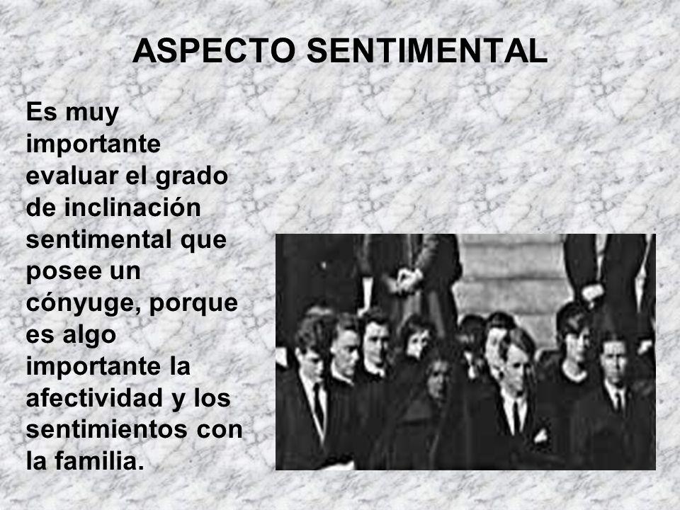 ASPECTO SENTIMENTAL