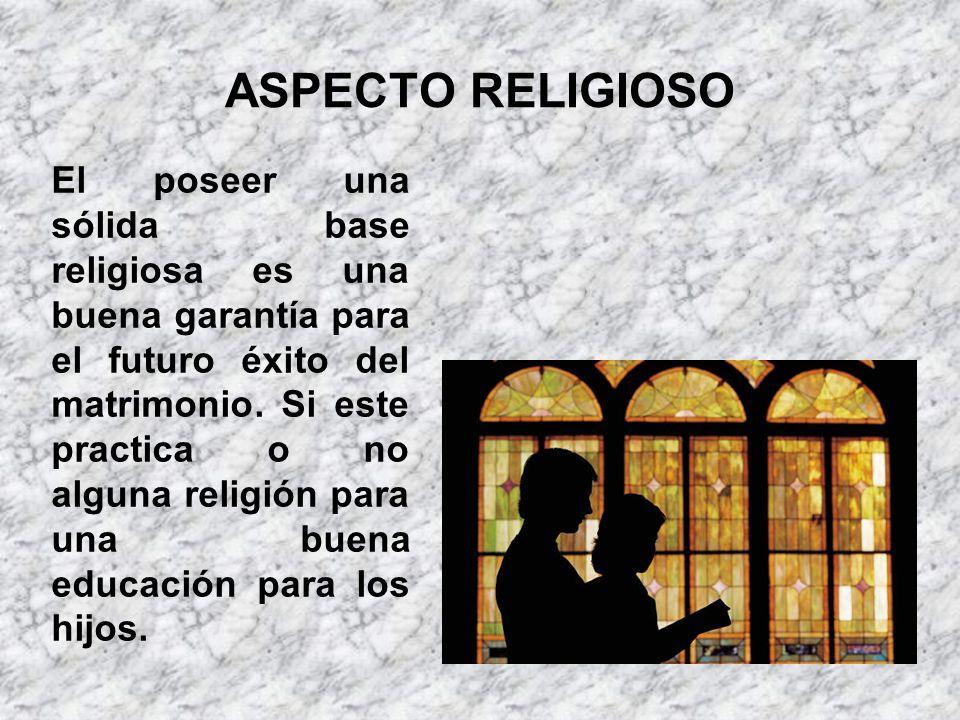 ASPECTO RELIGIOSO