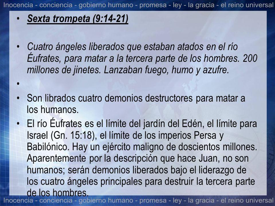 Sexta trompeta (9:14-21)