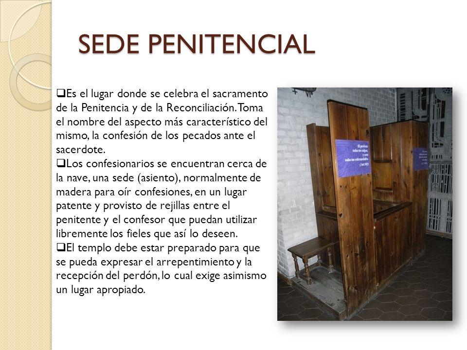 SEDE PENITENCIAL