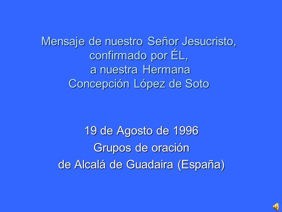 19 de Agosto de 1996 Grupos de oración de Alcalá de Guadaira (España)