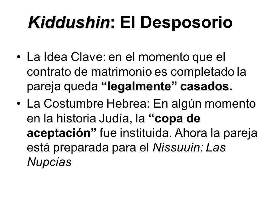 Kiddushin: El Desposorio