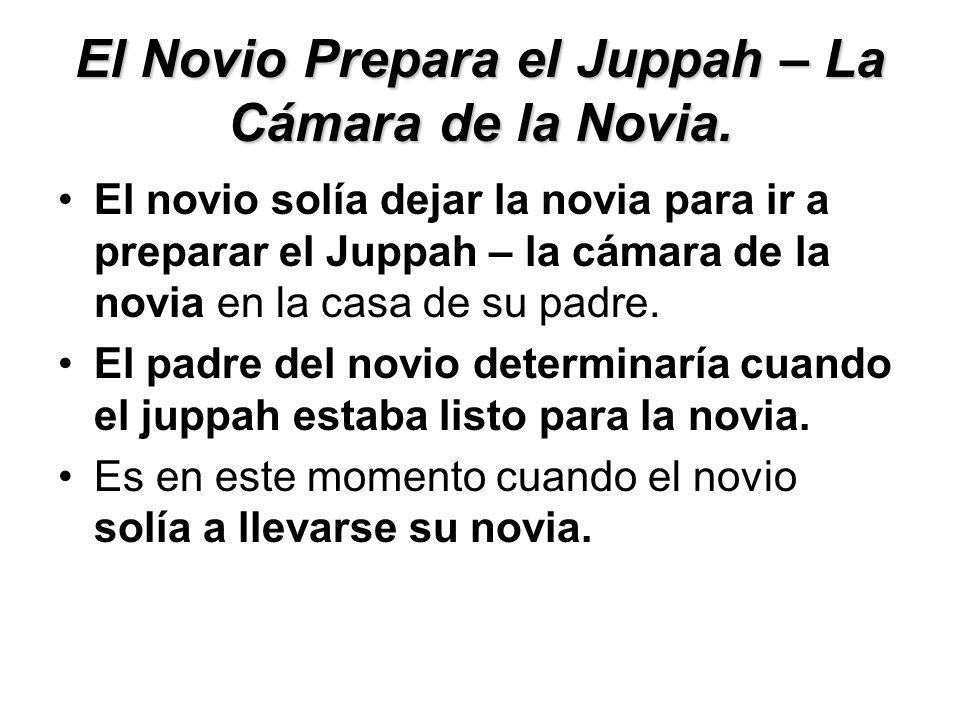 El Novio Prepara el Juppah – La Cámara de la Novia.