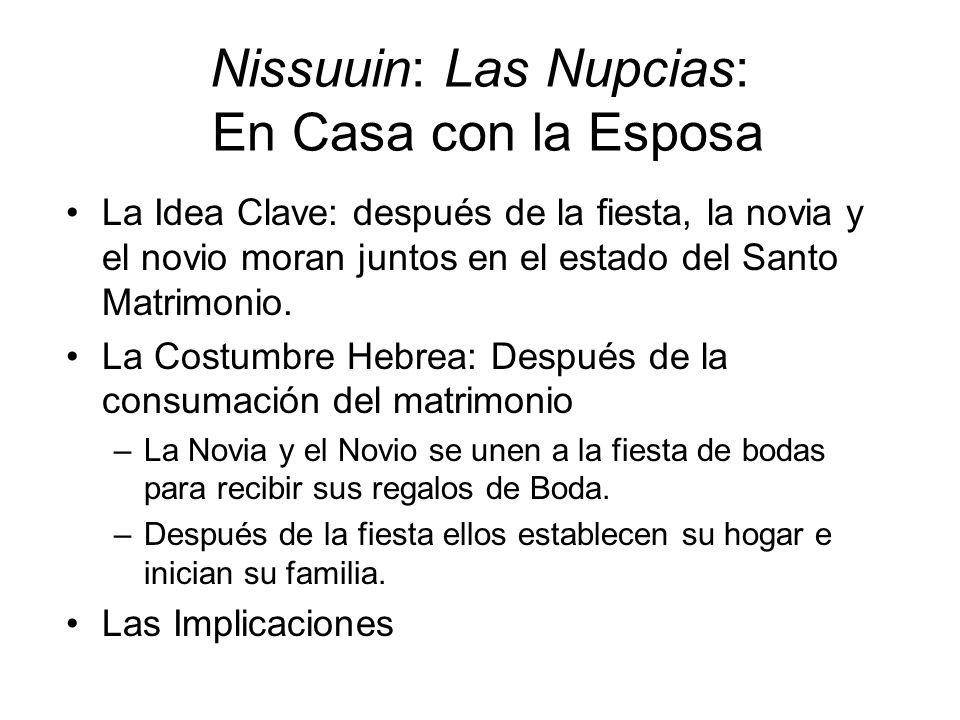 Nissuuin: Las Nupcias: En Casa con la Esposa