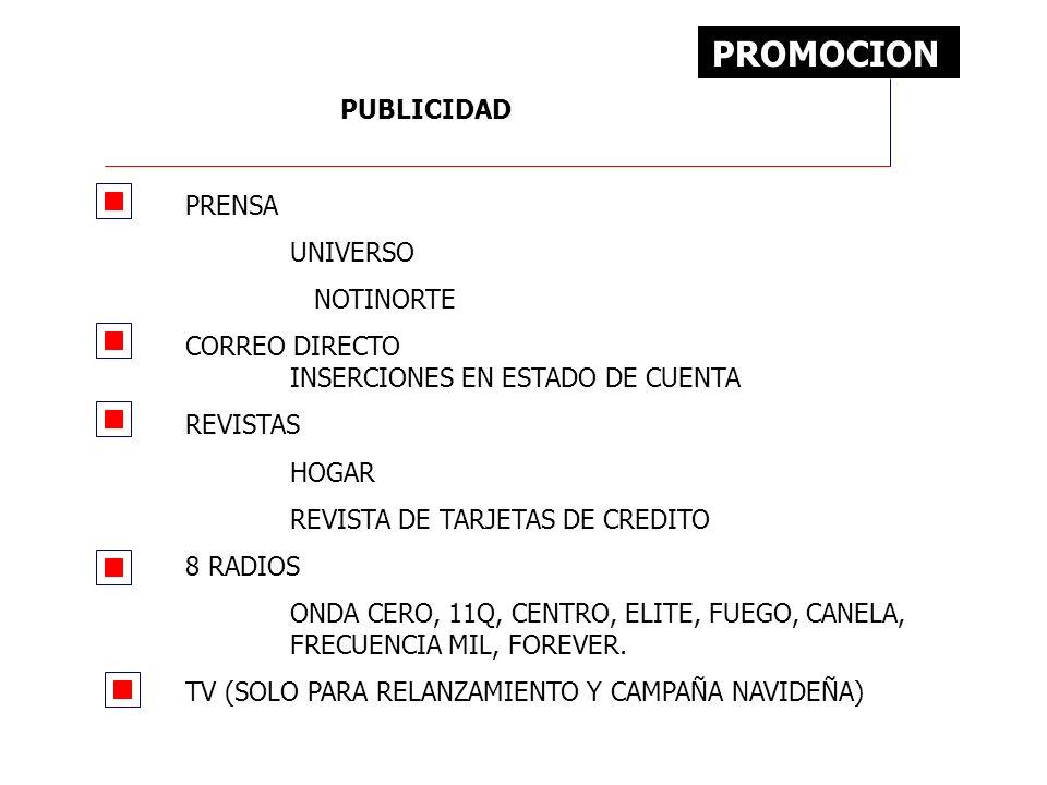 PROMOCION PUBLICIDAD PRENSA UNIVERSO NOTINORTE