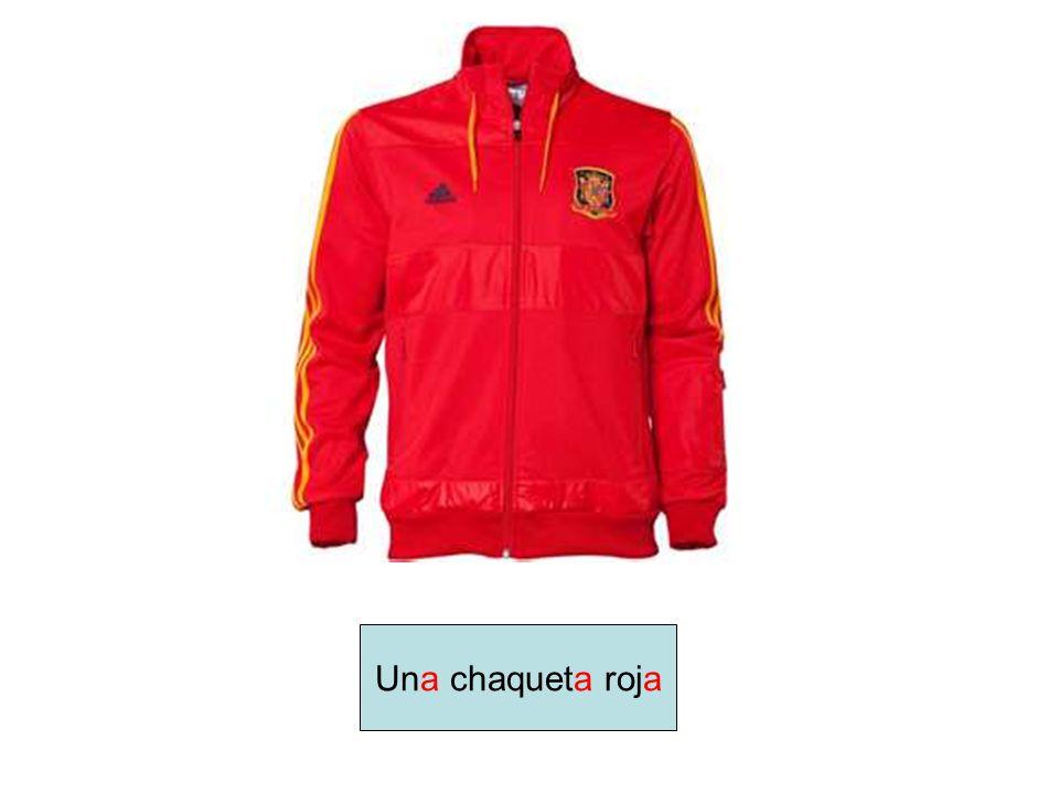 Una chaqueta roja