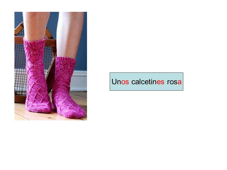 Unos calcetines rosa