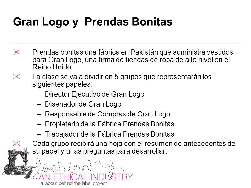 Gran Logo y Prendas Bonitas